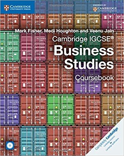 Cambridge IGCSE® Business Studies Coursebook with CD-ROM
