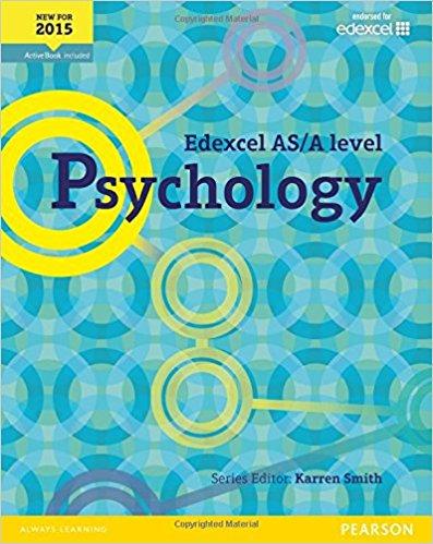 Edexcel AS/A Level Psychology Student Book + ActiveBook